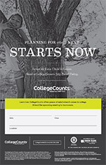 CollegeCounts Marketing Poster for employers