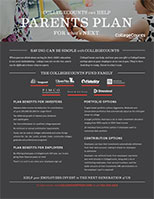 CollegeCounts Marketing flyer for employers